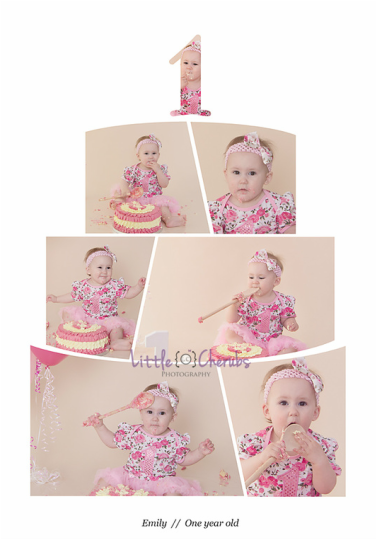 baby girl first birthday cake smash pink cambridge ely huntingdon march chatteris cambridgeshire